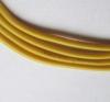 Кабель силиконовый 22AWG желтый